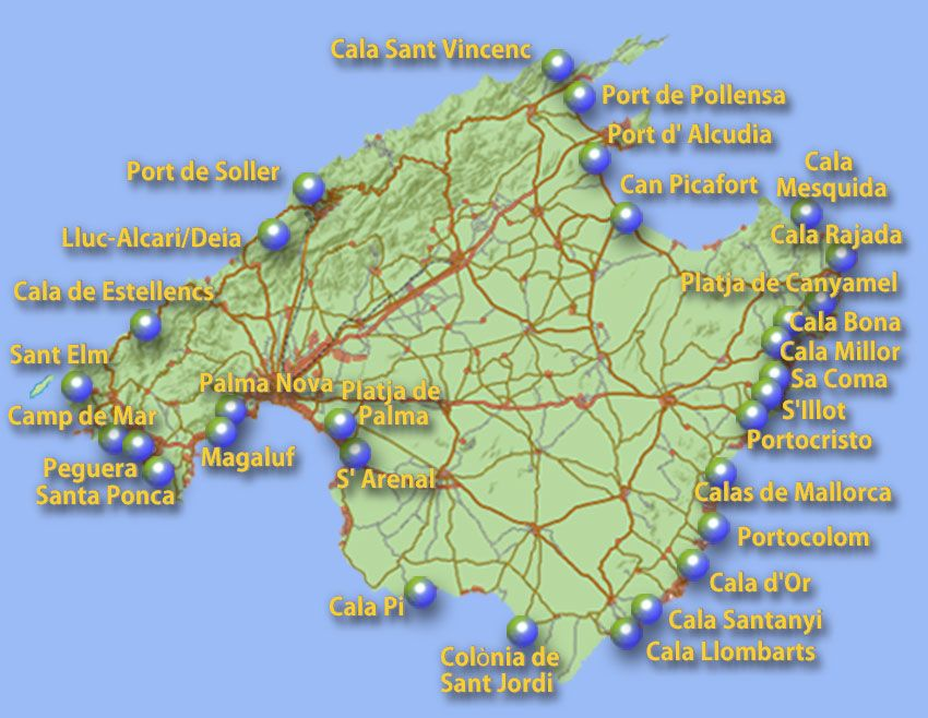 Mallorca Homepage De Urlaubsorte Can Picafort